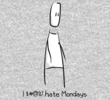 I $#@%! hate Mondays Kids Tee