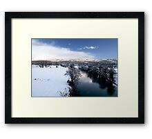 River Towy Framed Print