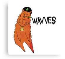Wavves Green Eyes Canvas Print