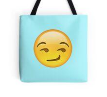 Smirking Emoji Tote Bag