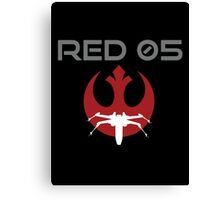 Red Squadron 05 Canvas Print