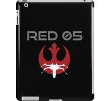 Red Squadron 05 iPad Case/Skin
