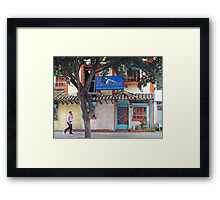 Typical Restaurant Framed Print