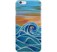 Peaceful Waves iPhone Case/Skin
