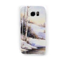 Watercolour winter scene Samsung Galaxy Case/Skin