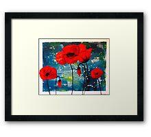 Pretty Poppies Framed Print