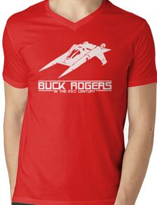 Buck Rogers In The 25th Century Spacecraft Sci Fi Tshirt Mens V-Neck T-Shirt