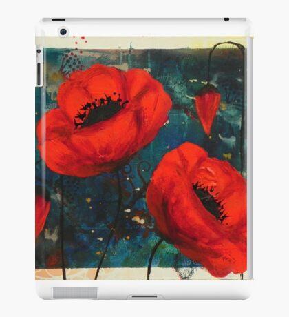 Poppies: courage iPad Case/Skin