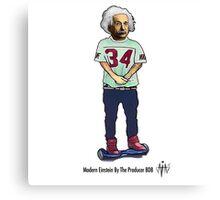 Modern Einstein by The Producer BDB Canvas Print