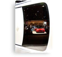 Reflections of the La Auto Show Canvas Print