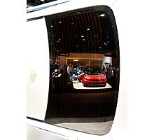 Reflections of the La Auto Show Photographic Print