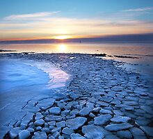 Frozen Shores II by Jeanie