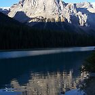 mountain reflection by vernonite
