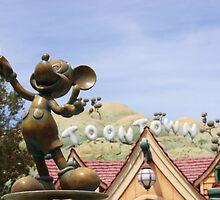 ToonTown Disneyland by aSliceofDisney