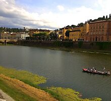 Florence by water by Snapshooter