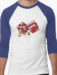 Dice Men's Baseball ¾ T-Shirt