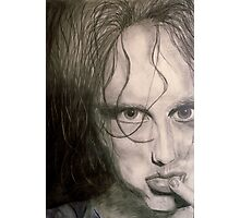 DISTORTED ROBERT SMITH Photographic Print