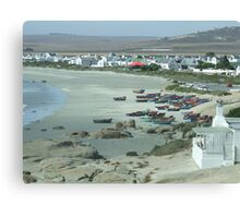 Paternoster South Africa... Canvas Print