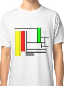 Faux Mondrian February Classic T-Shirt