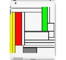 Faux Mondrian February iPad Case/Skin