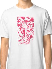 Shattered Distortion (Negative Pink) Classic T-Shirt