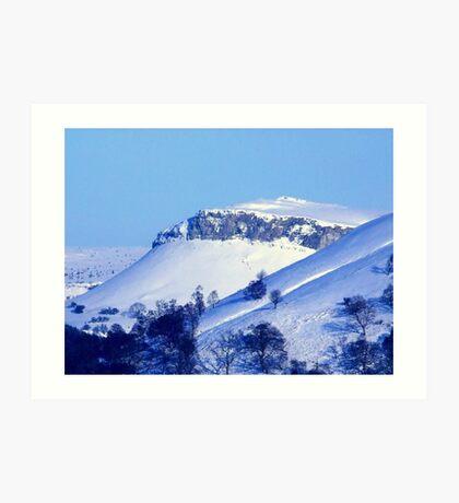 Berwyn Mountains in Winter beauty Art Print