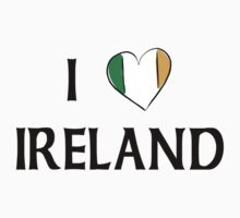 I Love Ireland Kids Tee