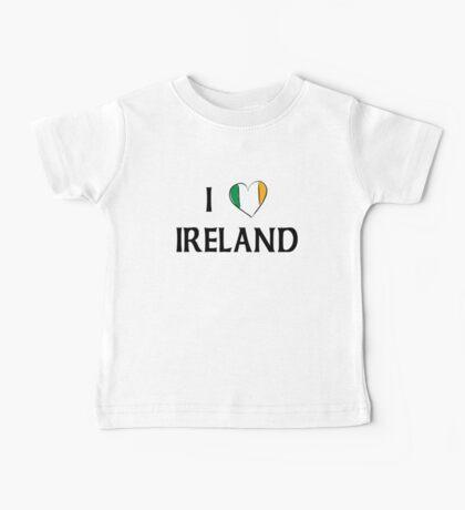 I Love Ireland Baby Tee