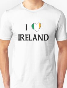 I Love Ireland Unisex T-Shirt