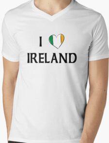 I Love Ireland Mens V-Neck T-Shirt