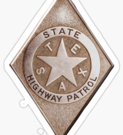 Texas Highway Patrol  Sticker
