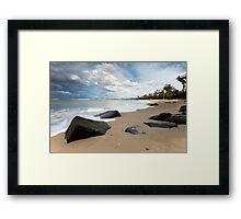 Seascape #9 - Mayfield Beach, Tasmania Framed Print