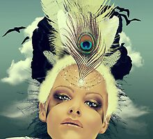 Lady Swallow by giuliorossi