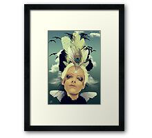 Lady Swallow Framed Print