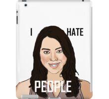 April Ludgate Hates People iPad Case/Skin