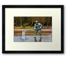 The Lytham Shrimper Framed Print
