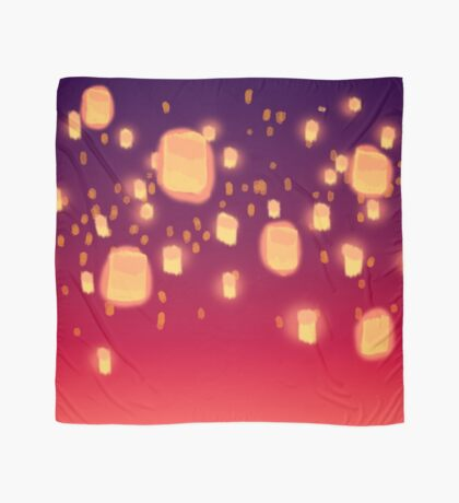 Floating Lanterns Scarf