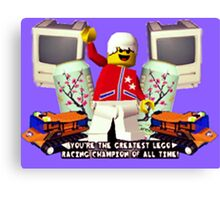 Lego champion Canvas Print