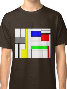 Faux Mondrian September Classic T-Shirt