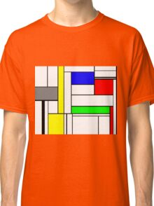 Faux Mondrian September Classic T-Shirt
