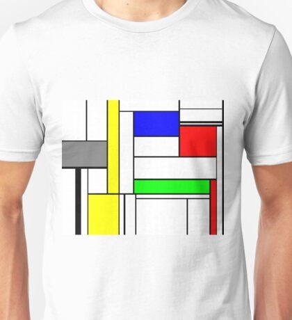 Faux Mondrian September Unisex T-Shirt