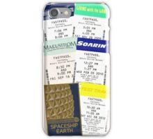 Epcot fastpass phone case iPhone Case/Skin