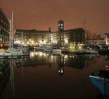St Katharine Docks, London by Peter Tachauer
