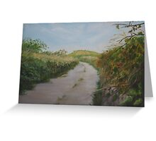 Country Lane in West Cork Greeting Card