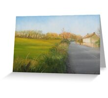 Country Road in Fingal Greeting Card