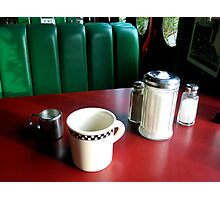 Germany - Heidelberg - Train Diner 2 Photographic Print