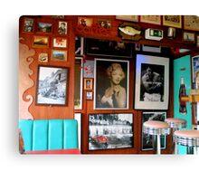Germany - Heidelberg - Train Diner 3 Canvas Print