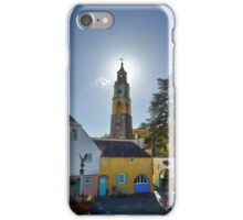 The Bell Tower at PortMeirion iPhone Case/Skin