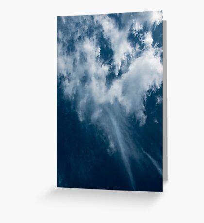 Cyan sky Greeting Card