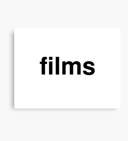 films Canvas Print